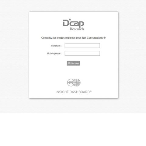 D'cap Research - Dashboard