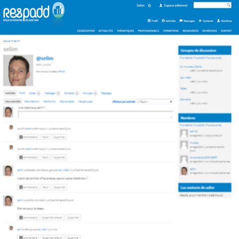 Réseau social professionnel du Respadd